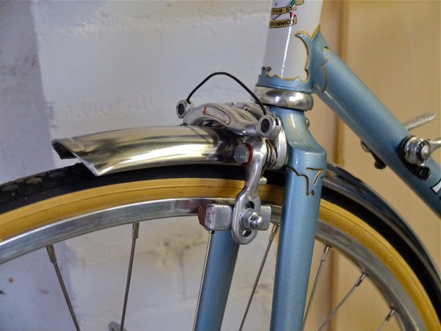 6672 refinished sloping crown with replaced decoration from orig forks