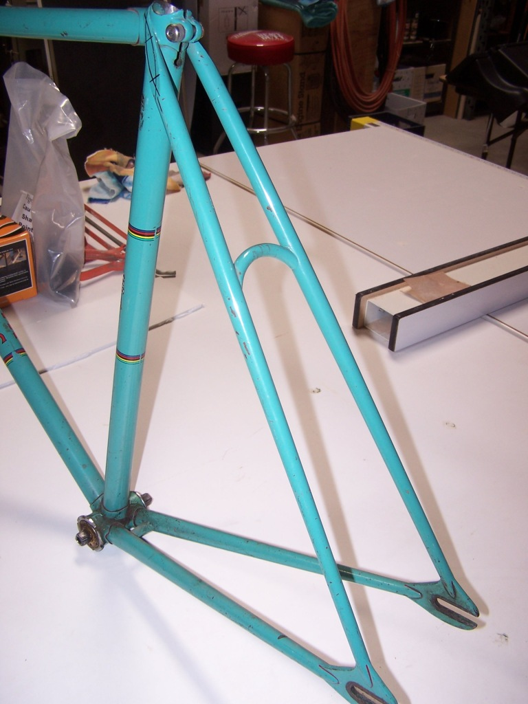 2 rear end undrilled curved seatstay bidge