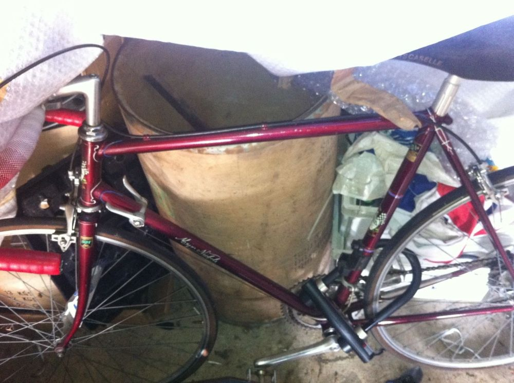 MN 1970S RUBY RED ROAD RACE